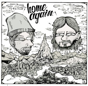 home-again-album-cover-jackson-whalan-jules-jenssen-illustration-beats-electronic-hip-hop