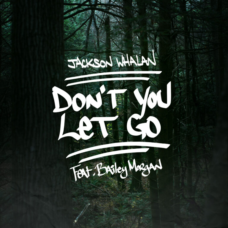 handwriting-album-cover-woods-dont-you-let-go-jackson-whalan-bailey-morgan-pop-music