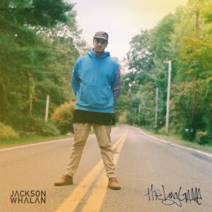 album-cover-long-game-jackson-whalan-road-blue-hoodie-hip-hop-music